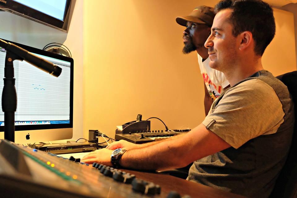in studio 2