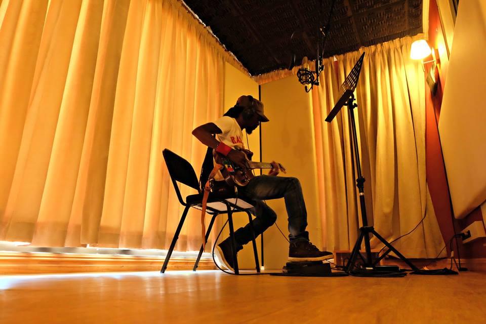 in studio 3